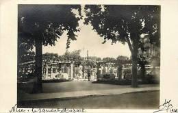 Depts Div- Alpes Maritimes - Ref G727- Carte Photo - Nice - Le Square Mozart  -carte Bon Etat  - - Piazze