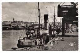 Boulogne-sur-Mer, Vue Sur Le Port, Estel Lavelle & Cie N° 8675, Animée, Bateaux - Boulogne Sur Mer
