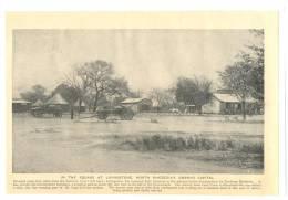 RHODESIA LIVINGSTONE EMBRYO 225X153mm PRE 1940 PICTURE 2717 SQUARE  ZAMBEZI CART - Reproductions