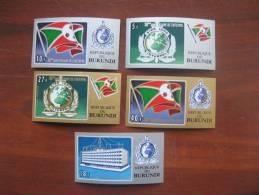 Burundi 1973 MNH 926.30 Imperf Interpol - Burundi