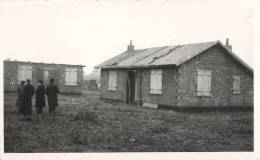 CARTE PHOTO : SECLIN VISITE DES CHANTIERS DE SECLIN-NORD PAR HAVRIN  M.M. BERNIZET HORY ET LEMOINE 59 NORD  1941 - Seclin