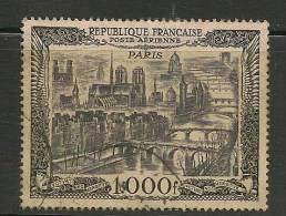 FRANCE - Aériens - 1950 Vue De Paris Yvert # 29  USED - Luftpost