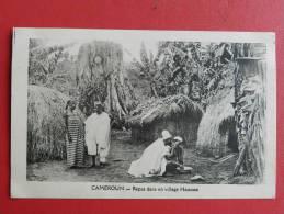 Cameroun - Repas Dans Un Village Haoussa - Camerún