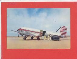 DOUGLAS DC 3 Cpa Animée 403 Peugeot          58 Draeger - 1946-....: Ere Moderne
