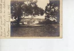 PAISAJE DE FONDO UN PUEBLO  FOTOGRAFIA  AÑO 1921    OHL - Andere
