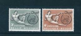 Belgique Timbres Neufs  ** De 1962  N°1231/32 - Nuevos