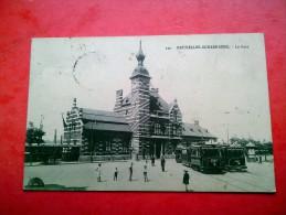 La Gare De   SCHAERBEEK .1914. - Chemins De Fer, Gares