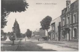 HESDIN  AVENUE DE BOULOGNE - Hesdin