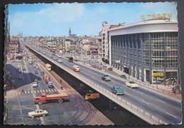 Bruxelles, Le Viaduc, Garage Citroën, Tramway, Automobiles - Transport Urbain En Surface