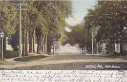 Maine Bethel Main Street 1908