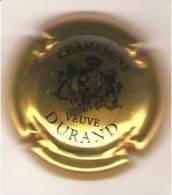 CAPSULE MUSELET CHAMPAGNE  VEUVE DURAND (NOIR SUR OR) - Durand (Veuve)