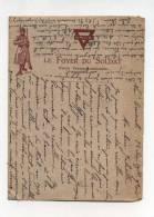 Courrier Militaire 1918 Au Départ De Neuf Brisach  Le Foyer Du Soldat     VOIR DESCRIPTIF  §§§§ - War 1914-18