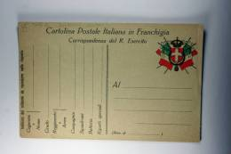Italy Cartolina Postale In Francgigia, Tipo B - Postwaardestukken