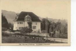 Ependes Fribourg Le Château D'Ammann 1925 - FR Fribourg