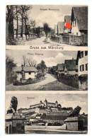 19205-RO-ALLEMAGNE-Gruss Aus Wuerzdurg-Vues Multiples Diverses - Wuerzburg