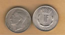 LUXEMBURGO -  1 Franc 1973  KM55 - Luxemburgo