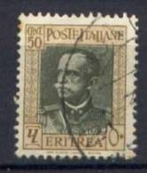 Eritrea 1931 Sass.196f Usato/Used VF/F - Eritrea