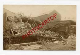 ARLON-Attaque Aerienne-CARTE PHOTO Allemande-Guerre-14-18-1 WK-BELGIEN-BELGIQUE-1917 - Arlon