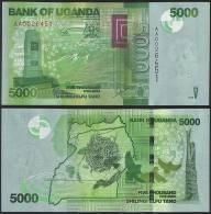 Uganda P 51 - 5000 5.000 Shillings 2010 - UNC - Uganda