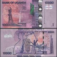 Uganda P 52 A - 10000 10.000 Shillings 2010 - UNC - Uganda