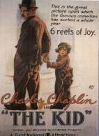 (765) Advetising Reproduction Postcard - Movie, The Kid, Charlie Chaplin - Advertising
