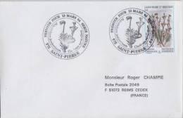 St Pierre & Miquelon FDC 8/03/1996 - Champignons