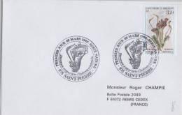 St Pierre & Miquelon FDC 8/03/1995 - Champignons