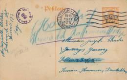 869/20 - Entier Germania LUTTICH 1917 Vers Camp De Prisonniers à SOLTAU - Mentions Manuscrites De Suivi - Weltkrieg 1914-18