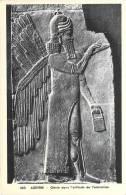 Aux Musées D´Europe -ASSYRIE Génie Dans L´attitude De L´adoration (1) (Assur)(Art Sculpture) Cpa*PRIX FIXE - Musées