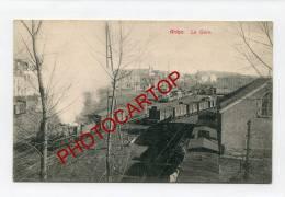 La GARE-ARLON-TRAINS-Locomotive-BELGIEN-BELGIQUE- - Arlon
