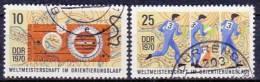 DDR 1970 / MiNr.   1605 - 1606  O / Used            (f928) - Oblitérés