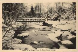 BELGIQUE - LIEGE - JALHAY - Vallée De La Hoëgne - Pont De Belheid Sous La Neige. - Jalhay
