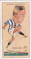 Player Vintage Cigarette Card Football Caricatures By Mac 1927 No 9 Tommy Cook - Player's