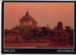 Bagan  Temples Au Couchant - Myanmar (Birma)