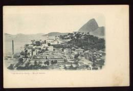 Cpa  Du Brésil Rio De Janeiro Vista Geral Da Gloria     DUA7 - Rio De Janeiro