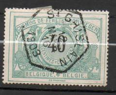 CF20 40c Vert Bleu  Oblitération ST-GHISLAIN - 1895-1913