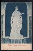 F216 Napoli ( Naples )Museo, Flora Farnese - Ed. EIRN -  Formato Piccolo, Old Mini Card - Scultura, Sculptur - Sculture