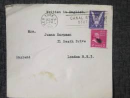 USA 1944 COVER TO UK - Postal History