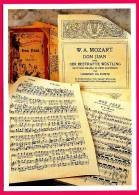 PC5590 Postcard: Mozart: Don Juan - Musica E Musicisti