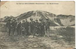MAURIENNE -  MILITAIRES AU COL DE SOLLIERES  Douaniers (?) -  LE MONT FROID - Francia