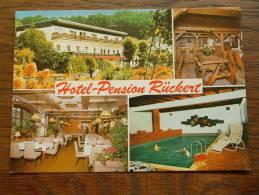 RÜCKERT Gerold Nistertal ( Westerwald ) ( Hotel ) / Anno 1989 ( Zie Foto Details ) !! - Zweibruecken