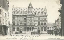Halle / Hal - Hôtel De Ville  -1902 ( Verso Zien ) - Halle
