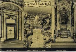 VATICAN  - ANNO SANTO 1950 ROMA -  Multivues -  Cpsm - Vatican