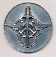 Médaille De Table CHAMPION DE FRANCE MILITAIRE DE TIR DE VITESSE AU FUSIL 1960 - Francia