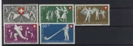Schweiz Michel No. 555 - 559 ** postfrisch