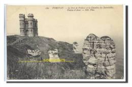 CP FRANCE  76 ETRETAT  Lle Fort De Fréfossé Et La Chambre Des Demoiselles - ** Prix Nets ** - Etretat