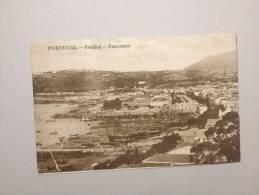 B3286) PORTUGAL SETUBAL PANORAMA ED. ALBERTO MALVA FOXING - Setúbal