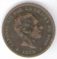 SPAGNA 5 CENTIMOS 1879 - [ 1] …-1931 : Regno