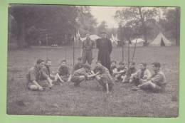 CHAMARANDE, Années 20 : Une Patrouille Des Scouts De France. CARTE PHOTO. 2 Scans - Scoutisme