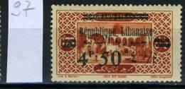 1928 - LIBANO - LEBANON - Scott Nr. 97 - Mi 128 - USED - (S21042013.....) - Libano